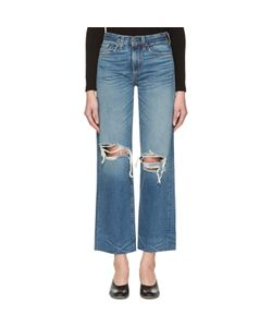 SIMON MILLER | Basin Cropped Frayed Jeans