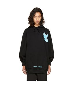 OFF-WHITE | Oversized Not Real Dove Hoodie