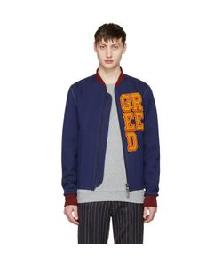 Pyer Moss | Exclusive Greed Varsity Bomber Jacket