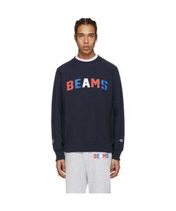 Champion x Beams | Logo Pullover
