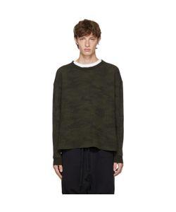 UNRAVEL | Long Sleeve Camo Waffle Skate T-Shirt