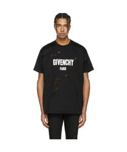 Givenchy | Destroyed Logo T-Shirt