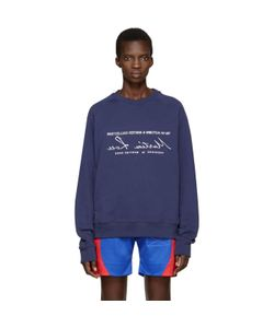MARTINE ROSE | Embroide Pullover
