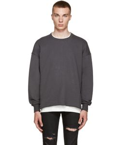 FEAR OF GOD | Grey Crewneck Pullover