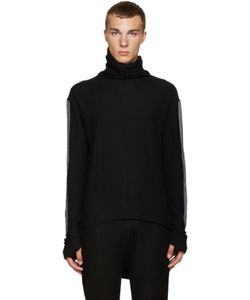 Nude:mm | Nude Mm Contrast Sleeve Turtleneck
