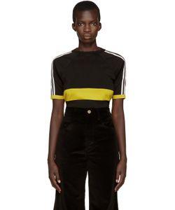 WALES BONNER   Black Georg T-Shirt