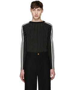 WALES BONNER | Black Maximilian T-Shirt