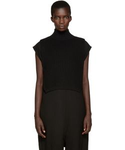 Ys | Black Mock Neck Collar