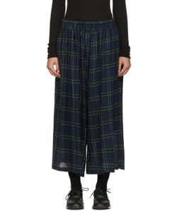 NOCTURNE 22 | Wool Check Culottes