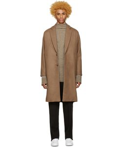 Undecorated Man | Brown Chester Coat