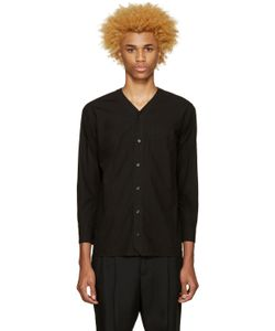 Undecorated Man | Poplin V-Collar Shirt