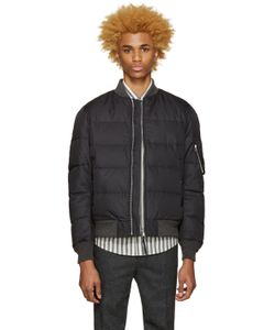 Nanamica | Reversible Black Na-1 Down Jacket