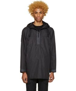 Nanamica | Black Hooded Parka
