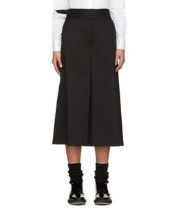 Hyke | Black Wool Culottes