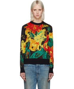 Writtenby | Floral Knit Sweater