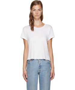 RE-DONE | White Hanes Edition 1950s Perfect Boxy T-Shirt