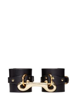 Fleet Ilya | Black Leather Cuffs