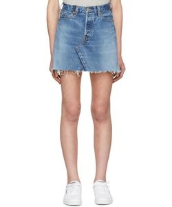 RE-DONE | High-Rise Denim Miniskirt