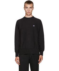Champion x Beams | Black Reverse Weave Sweatshirt