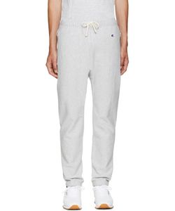 Champion x Beams | Grey Reverse Weave Lounge Pants