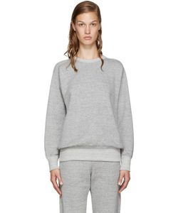 Hyke | Grey French Terry Pullover