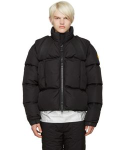 Moncler x Off-White | Black Trouville Jacket
