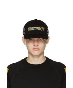 Moncler x Off-White | Black White Widow Baseball Cap