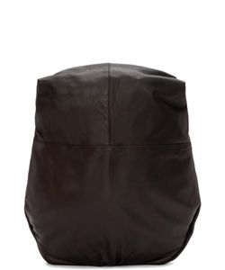 C te and Ciel | Côte And Ciel Black Leather Nile Alias Backpack