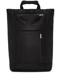 Master-Piece Co | Leather Tote Backpack