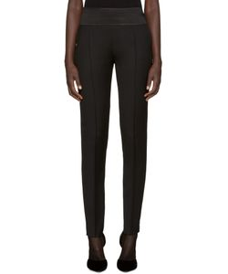 PALLAS | Black Wool Esope Trousers