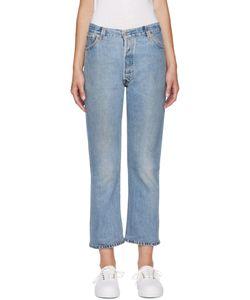 RE-DONE | No Destruction Jeans