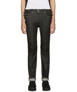ganryu | Black Selvedge Denim Jeans