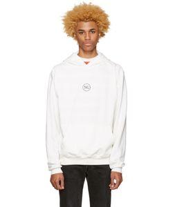 Noon Goons | White Logo Hoodie