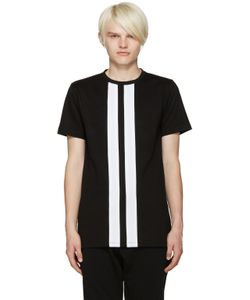Pyer Moss | Black Stripe T-Shirt