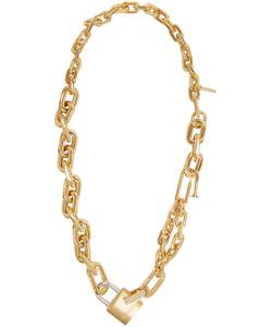 AMBUSH | Rebel Padlock Chain Necklace