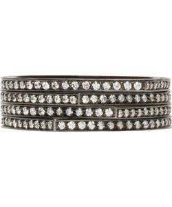 REPOSSI | And Diamond Pavé Four-Band Antifer Ring