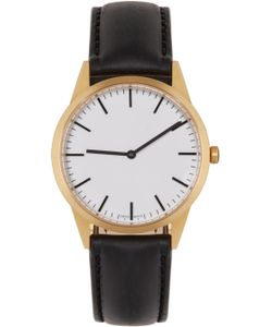 Uniform Wares | Gold And Black C35 Watch