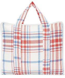 Writtenby | White Woven Laundry Tote