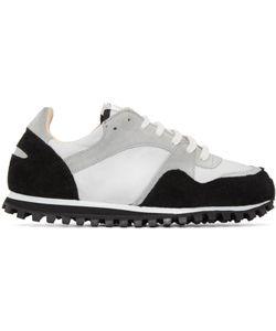 SPALWART | Black And Grey Marathon Trail Sneakers
