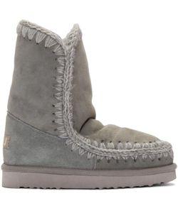 Mou | Grey Eskimo 24 Boots