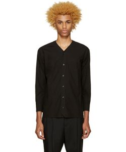 Undecorated Man | Poplin V-Collar Shirt