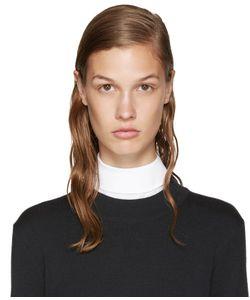 Hyke   White Poplin Collar