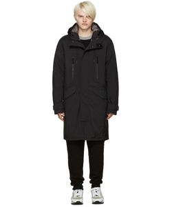 ISAOR | Black Layered Parka