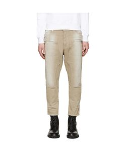 Balmain | Tan Cropped Jeans