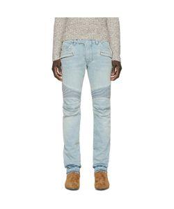 Balmain | Blue Biker Jeans