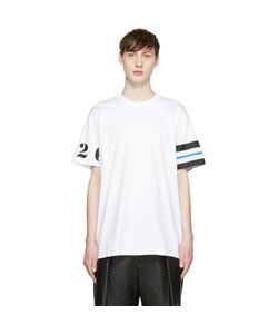 Givenchy | White Numbers And Stripes T-Shirt