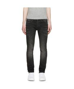 MARCELO BURLON COUNTY OF MILAN | Black Slim Stone Jeans