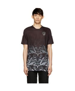 MARCELO BURLON COUNTY OF MILAN | And Green Lamborghini Snake T-Shirt