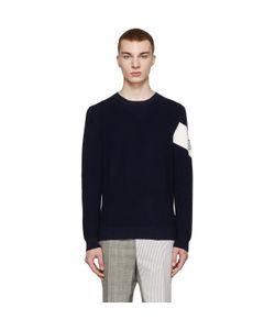 Moncler Gamme Bleu | Navy Crewneck Sweater
