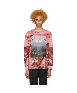 HOOD BY AIR | Pink Overcome T-Shirt